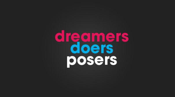 Be a Doer...
